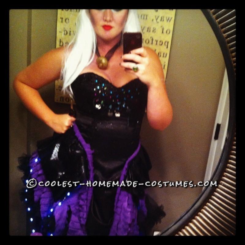 Fashionable Homemade Ursula Costume - 4