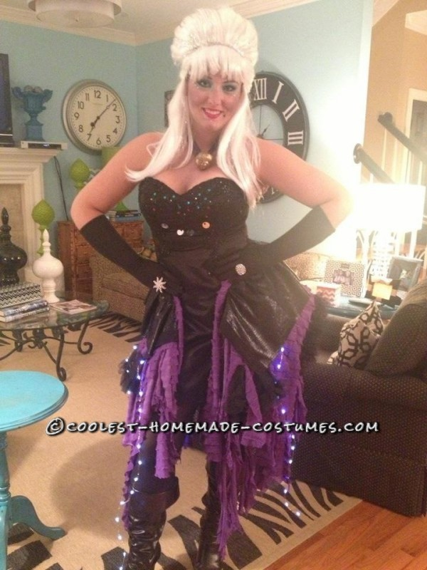 Fashionable Homemade Ursula Costume