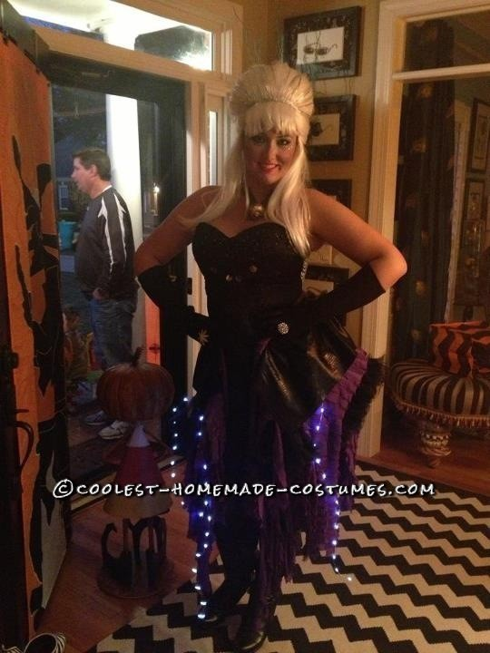 Fashionable Homemade Ursula Costume - 3