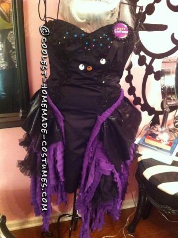 Fashionable Homemade Ursula Costume