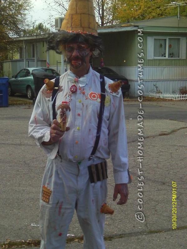 Homemade Ice Cream Man Costume for under 10 Dollars! - 2