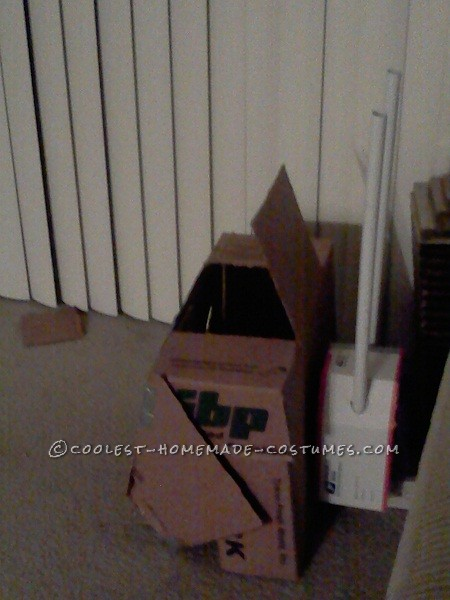 Coolest Homemade Transforming Tank Transformer Costume