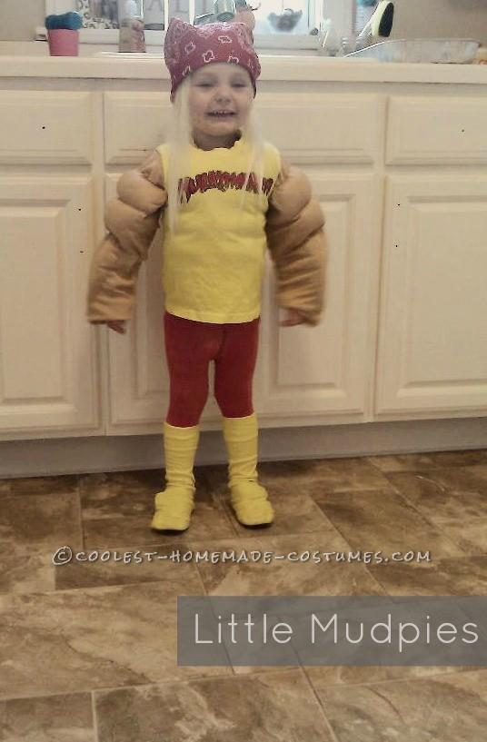 Coolest Hulk Hogan Costume for a 2 Year Old Boy