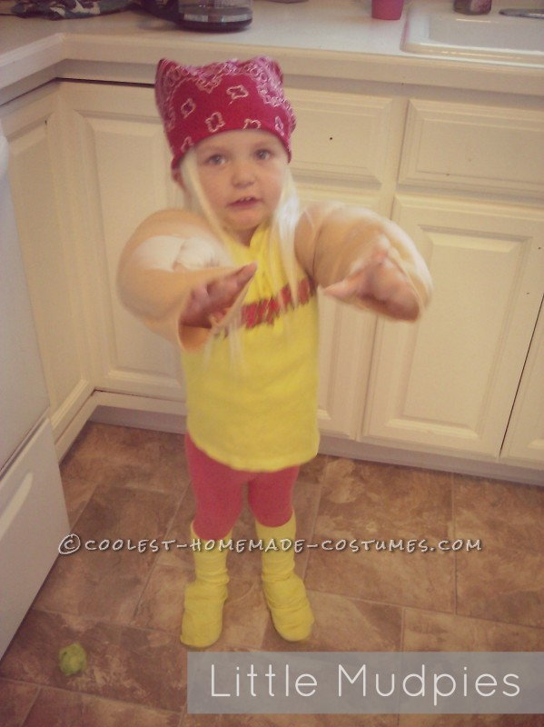 Coolest Hulk Hogan Costume for a 2 Year Old Boy - 1