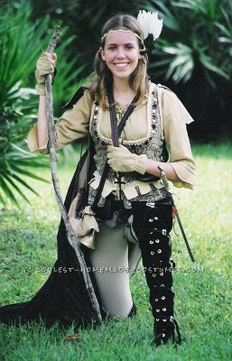 Homemade Huntress Costume Inspired by Lord of the Rings - 1