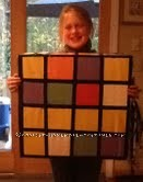Inexpensive Rubik's Cube Costume for All Ages - 2