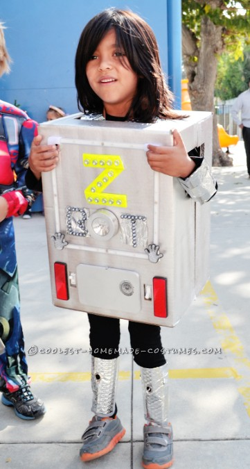"Intergalactic ""Z Bot"" Robot Costume with Sounds and Lights"