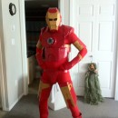 This is my costume for Halloween 2011. The Iron man movies being such a big hit, influenced my decision to make this costume. I wanted to make it fai