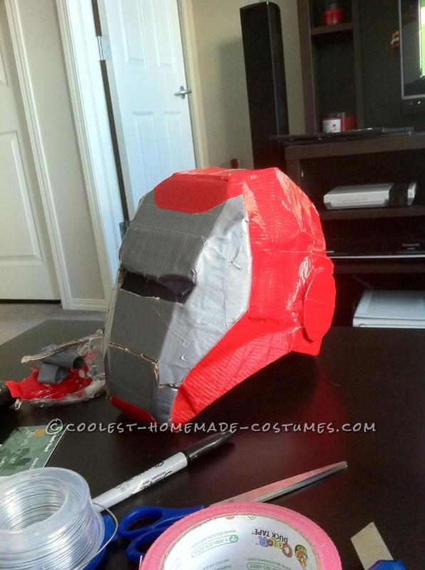 Awesome Homemade Iron Man Halloween Costume - 9
