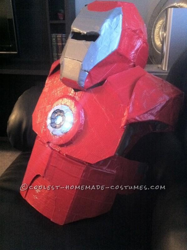 Awesome Homemade Iron Man Halloween Costume - 7
