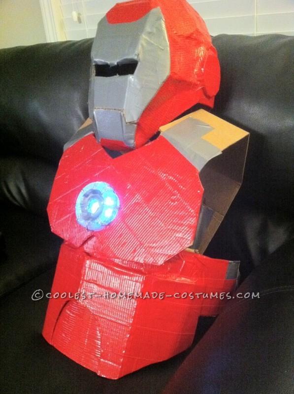 Awesome Homemade Iron Man Halloween Costume - 6