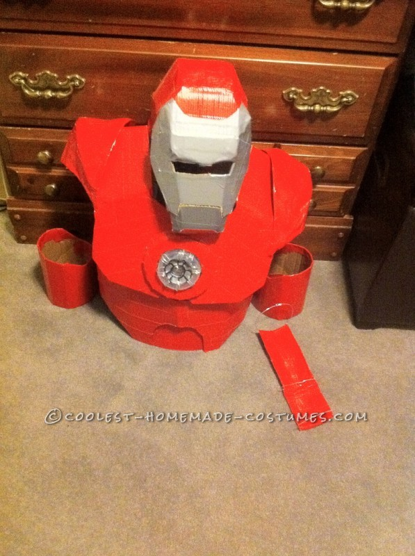 Awesome Homemade Iron Man Halloween Costume - 5