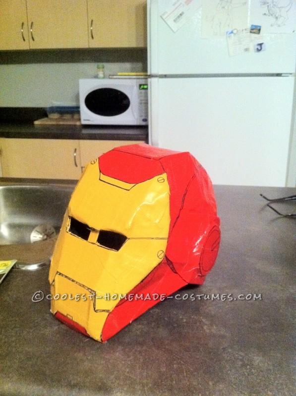 Awesome Homemade Iron Man Halloween Costume - 4