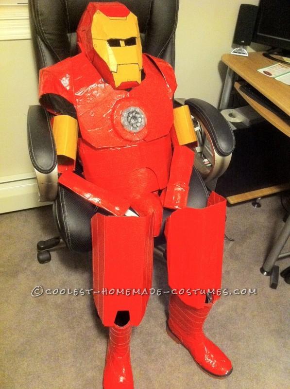 Awesome Homemade Iron Man Halloween Costume - 2