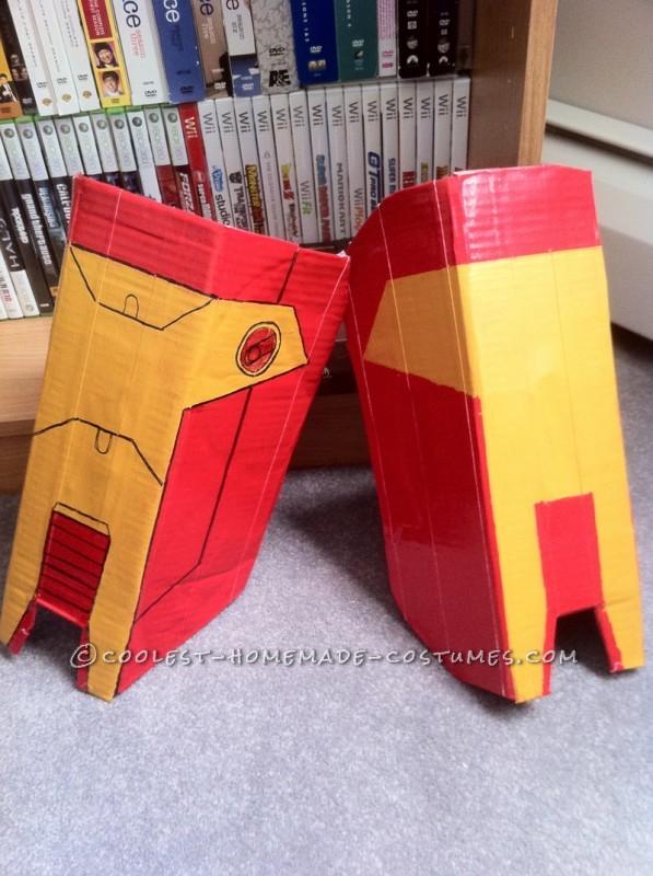 Awesome Homemade Iron Man Halloween Costume - 1