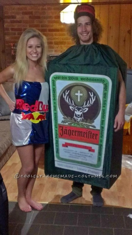 Coolest Jager Bomb Couple Halloween Costume - 1