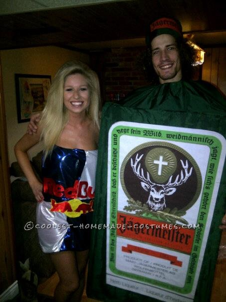 Coolest Jager Bomb Couple Halloween Costume