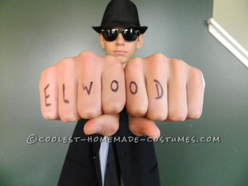 Elwood. Unfortunately, I did't get a picture of Jake's knuckles.