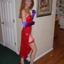 Homemade Jessica from Roger Rabbit Costume