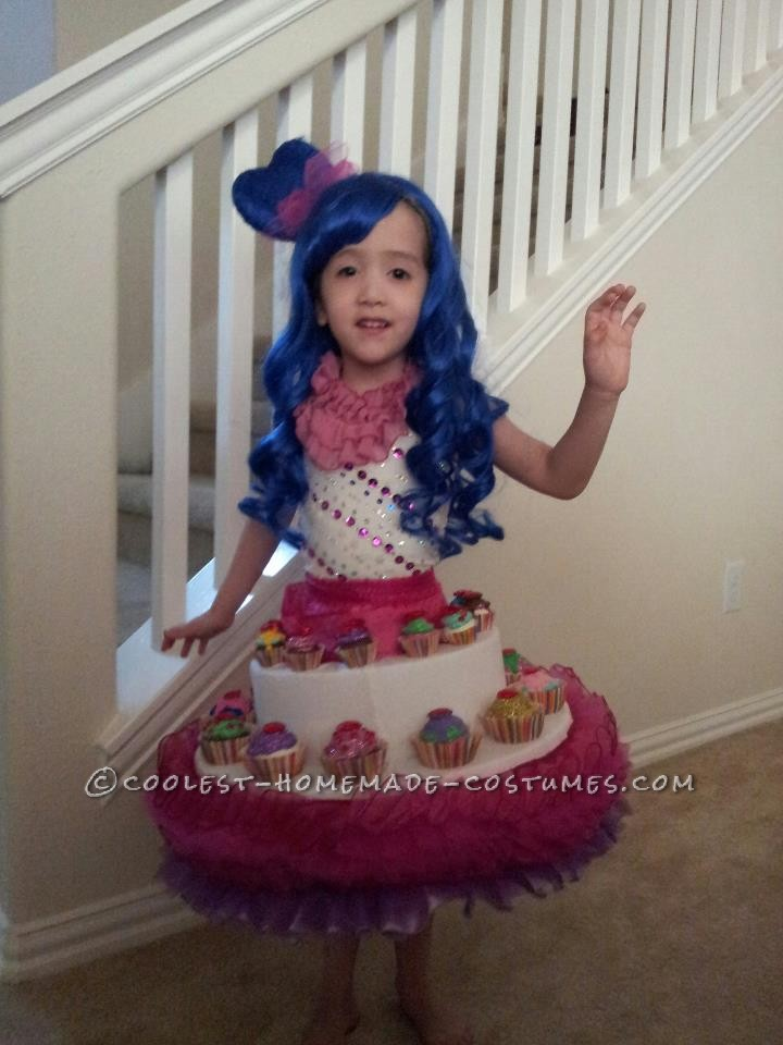 Cute Girl's Katy Perry and her Cupcake Dress Costume