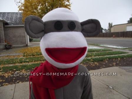 Cool Homemade Sock Monkey Costume That'll Knock Your Socks Off!