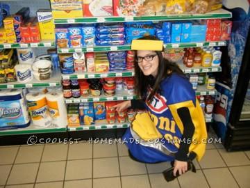 Homemade Kraft Macaroni and Cheese Costume