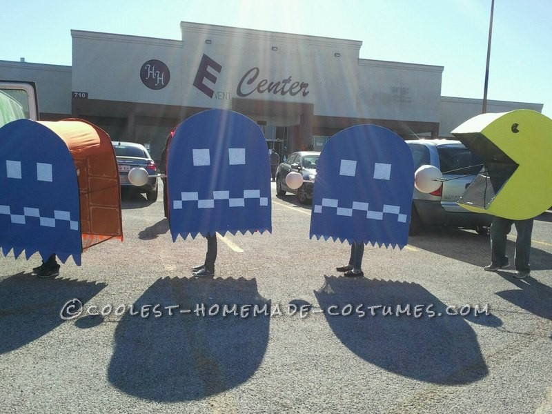 Larger than Life Pacman Family Halloween Costume