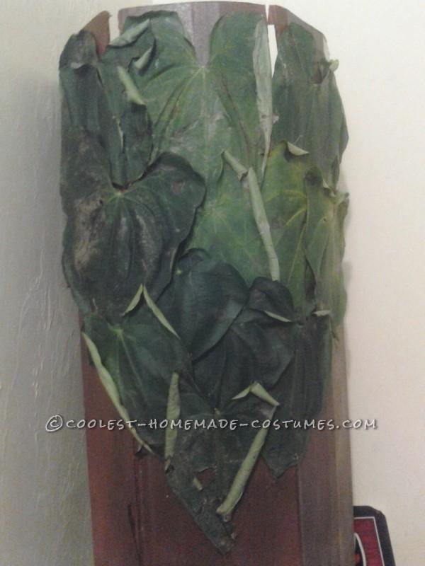 Leafy hair