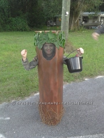 Last-Minute Walking Tree Costume