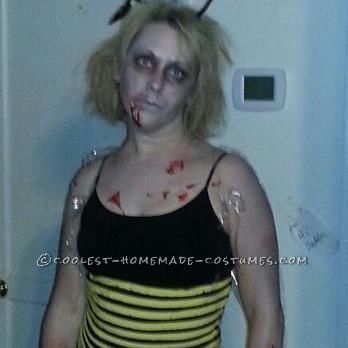 Last-Minute ZomBee Halloween Costume