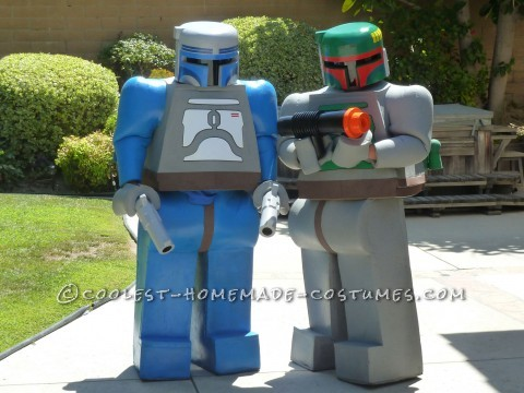 Hello all, this is my son and I in our Jango and Boba Fett costumes that I originally made for Comic Con 2012. I am Jango and he is Boba. These are t