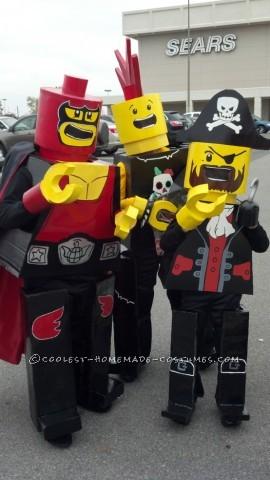 Cool LEGO Kids Group Costume