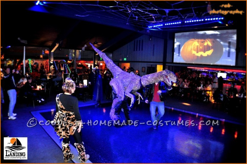 Dino on the dance floor