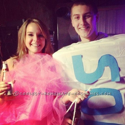 Loofah and Soap Couple Halloween Costume