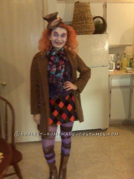 60 Eccentrically Cool Diy Mad Hatter Costumes For Halloween
