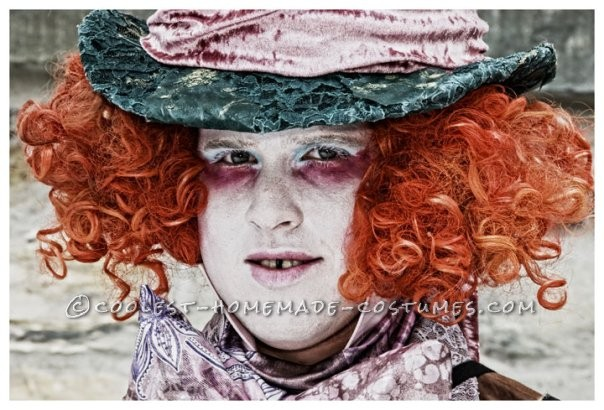 Awesome Homemade Mad Hatter Costume from Alice in Wonderland