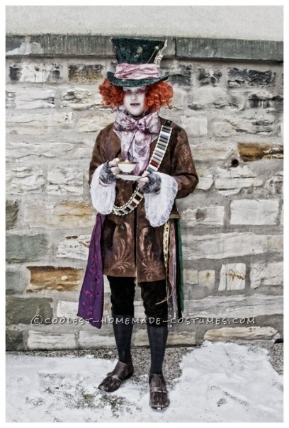 Awesome Homemade Mad Hatter Costume from Alice in Wonderland - 8