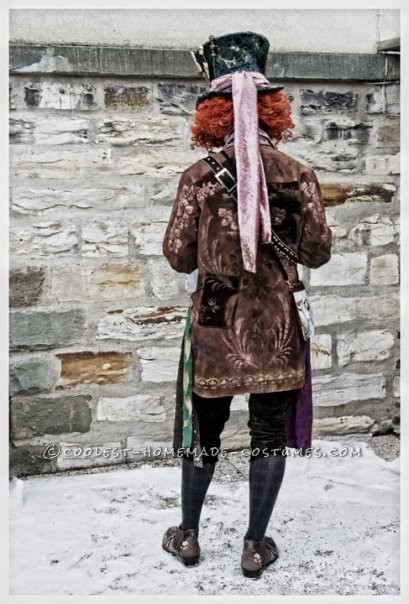 Awesome Homemade Mad Hatter Costume from Alice in Wonderland - 6