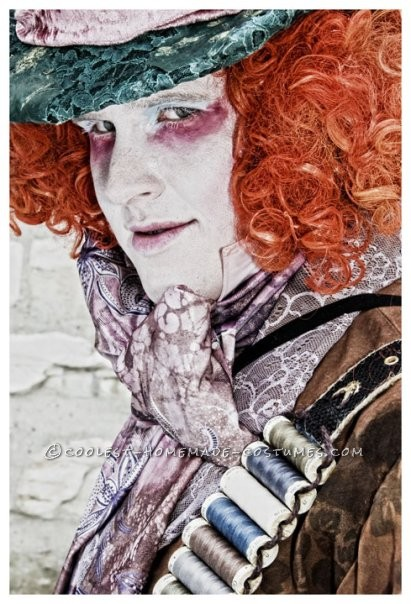 Awesome Homemade Mad Hatter Costume from Alice in Wonderland - 1
