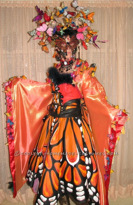 First off my inspiration came the day after Christmas of last year when I came across a pictue of Luly Yang's Butterfly Dress and then while researc