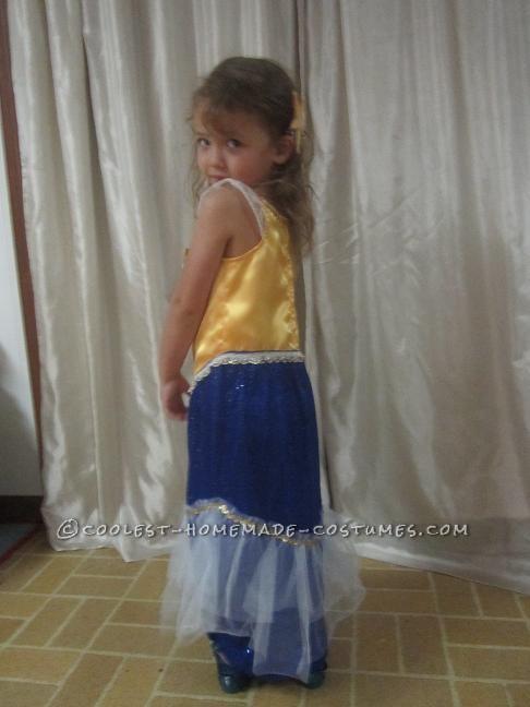 Magical Homemade Mermaid Costume for a Girl