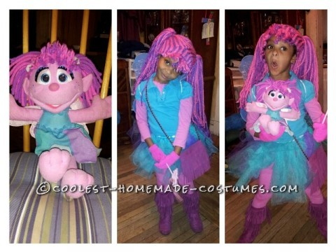 Cutest Abby Cadabby Homemade Costume for a Girl