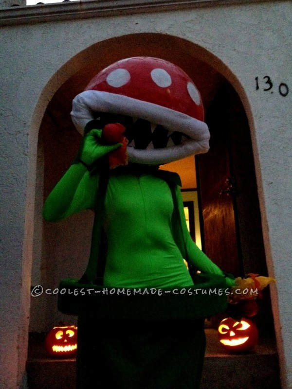 Hi!Every Halloween I try to outdo myself in making a costume that is a huge pain in the butt to wear. Ha! I usually have an idea picked out months