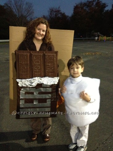 Awesome Homemade 'Smores Family Halloween Costume - 1