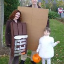 Awesome Homemade 'Smores Family Halloween Costume