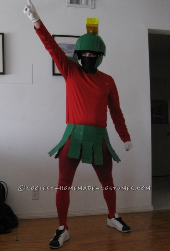 Coolest Marvin the Martian Halloween Costume for Under $20: I am a huge Looney Tunes fan and have been since I was a kid.  I love to think of offbeat characters to be for Halloween, especially ones that are ea