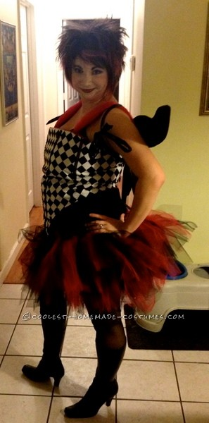 Interchanging Masquerade, Witch and Fairy All-in-One Costume
