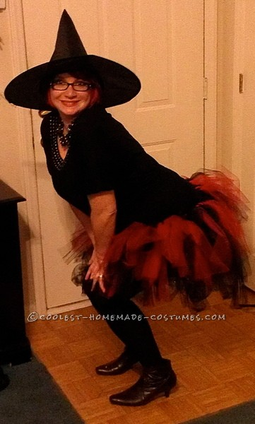 Halloween Night Witch Costume