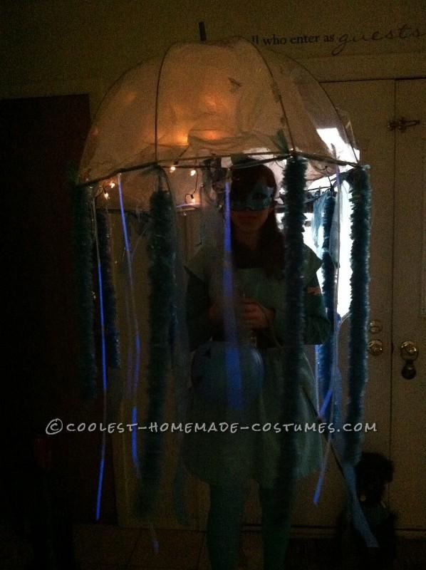 Coolest Homemade Masquerade Jellyfish Halloween Costume - 2