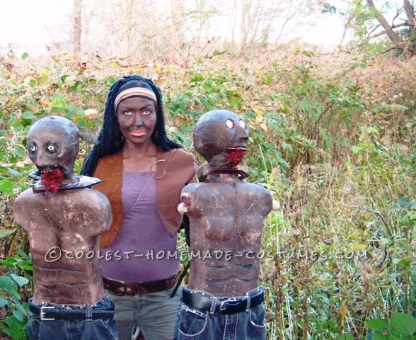 Creepy Michonne Costume from The Walking Dead - 9